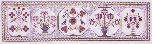 Click for more details of Two Blue Birds (cross stitch) by Rosewood Manor