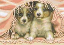 Click for more details of Under the Blanket (cross-stitch kit) by RTO