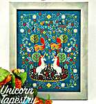 Click for more details of Unicorn Tapestry (cross stitch) by Tiny Modernist