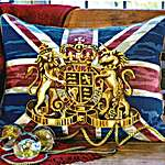 Click for more details of Union Jack (tapestry) by Glorafilia