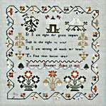 Click for more details of Universal Prayer - Frances Bradley  (cross stitch) by 1897 Schoolhouse Samplers