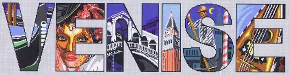 Click for more details of Venice (cross stitch) by Marie Coeur