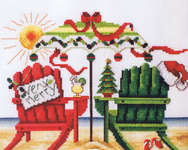 Click for more details of Very Merry Beach (cross stitch) by Stoney Creek