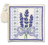 Click for more details of Victorian Lavender Needlecase (cross stitch) by Textile Heritage