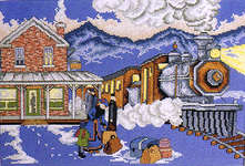 Click for more details of Victorian Station (cross-stitch pattern) by StitchWorld