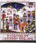 Click for more details of Victorian Village Christmas (cross stitch) by Stoney Creek