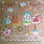 Click for more details of Vigilia Di Pasqua (Easter Eve) (cross stitch) by Cuore e Batticuore