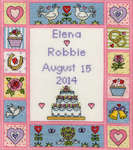Click for more details of Vintage Wedding (cross stitch) by Bothy Threads