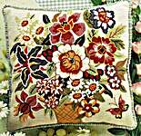Click for more details of Virginia Cushion Front (tapestry) by Glorafilia