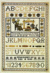 Click for more details of Virtuous Woman Sampler (cross-stitch pattern) by StitchWorld