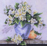 Click for more details of Watercolor Blooms (cross stitch) by Stoney Creek