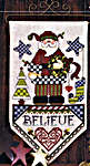 Click for more details of We Believe in Santa (cross stitch) by Stoney Creek