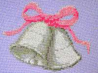 Click for more details of Wedding Bells (cross stitch) by Anne Peden