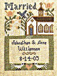 Click for more details of Wedding & Birth Samplers IV (cross-stitch pattern) by The Prairie Schooler