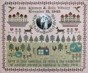 Click for more details of Wedding Sampler (cross stitch) by Heartstring Samplery