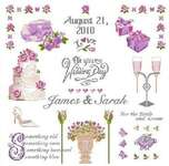 Click for more details of Wedding Sampler (cross stitch) by Anette Eriksson