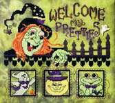 Click for more details of Welcome my Pretties (cross stitch) by Stoney Creek