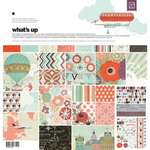 "Click for more details of What's Up Collection Pack (Papers & Stickers) 12""x12"" (paper craft kits and album kits) by Basic Grey"