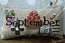 Click for more details of When I Think Of September (cross stitch) by puntiniputini