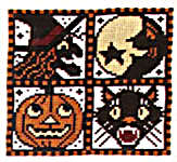 Click for more details of When Witches Go Riding (cross stitch) by The Prairie Schooler