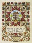 Click for more details of Where the Heart Dwells (cross stitch) by Stoney Creek