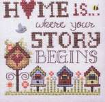 Click for more details of Where your Story Begins (cross stitch) by Stoney Creek