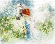 Click for more details of White Dream (cross stitch) by Golden Fleece