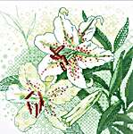 Click for more details of White Lilies (cross stitch) by Riolis
