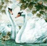 Click for more details of White Swans (cross stitch) by Riolis