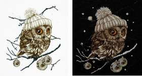 Click for more details of Whoo...Whoo...It's Winter (cross stitch) by Thea Gouverneur
