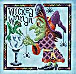 Click for more details of Wicked Wanda (cross stitch) by Glendon Place