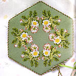 Click for more details of Wild Flowers in Cross Stitch (hardback) by Jane Iles