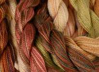 Click for more details of Wildflowers Single Strand Hand Dyed Cotton (thread and floss) by The Caron Collection