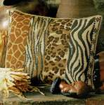 Click for more details of Wildlife  Cushion Front (tapestry) by Glorafilia