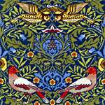 Click for more details of William Morris - Bird (tapestry) by Bothy Threads