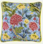 William Morris Style Cushion Front - Cray