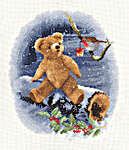 Click for more details of William's Present (cross stitch) by John Clayton
