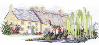 Click for more details of Willowbrook Lane (cross stitch) by Rose Swalwell