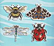 Click for more details of Winged Friends Magnets (tapestry) by MP Studios