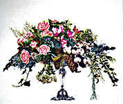 Click for more details of Winter Bouquet (cross stitch) by Thea Gouverneur