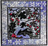 Click for more details of Winter Evergreens (tapestry) by Rose Swalwell