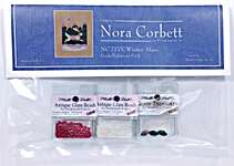 Click for more details of Winter Hare Embellishment Pack (beads and treasures) by Nora Corbett