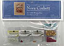 Click for more details of Winter Nest Embellishment Pack (beads and treasures) by Nora Corbett