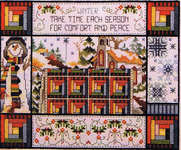 Click for more details of Winter Quilt (cross stitch) by Stoney Creek