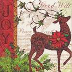 Click for more details of Winter Reindeer (cross stitch) by Dimensions