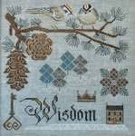 Click for more details of Winter's Wisdom (cross stitch) by Cottage Garden Samplings