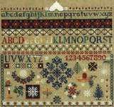 Click for more details of Winter Sampler (cross stitch) by Butternut Road