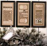 Click for more details of Winter Samplers (cross stitch) by The Prairie Schooler