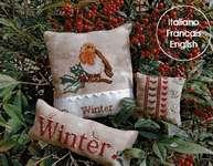 Click for more details of Winter Trio (cross stitch) by Serenita di Campagna