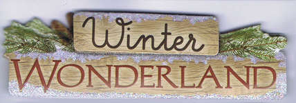 Click for more details of Winter Wonderland  (embellishments) by Paper House Productions